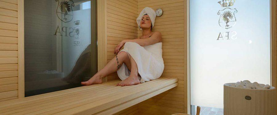 realizzazione sauna su misura hamman villa